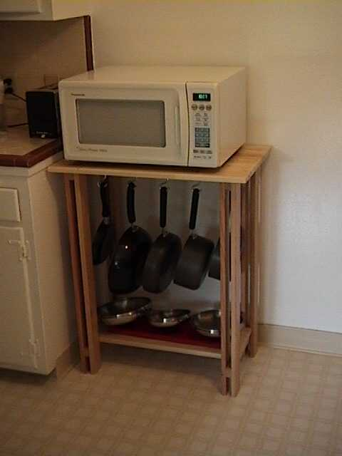 Brian S New Microwave Table